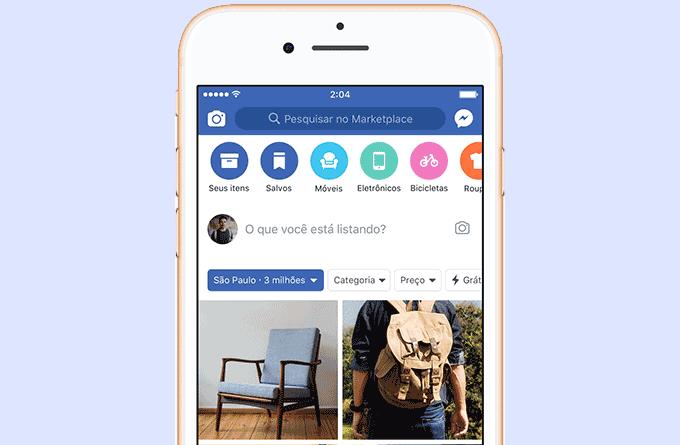 Facebook oficializa compras e vendas com novo Marketplace